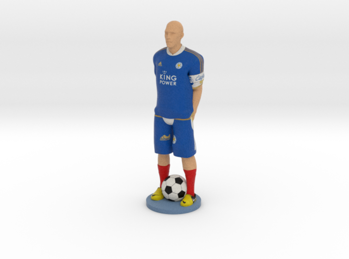 Personal Gift Footballer with your Face and Name 1 3d printed