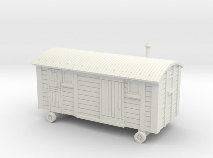 TT Scale Shepherds Hut 3d printed