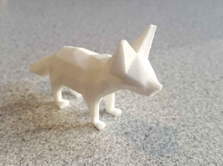 Fennec Fox 3d printed
