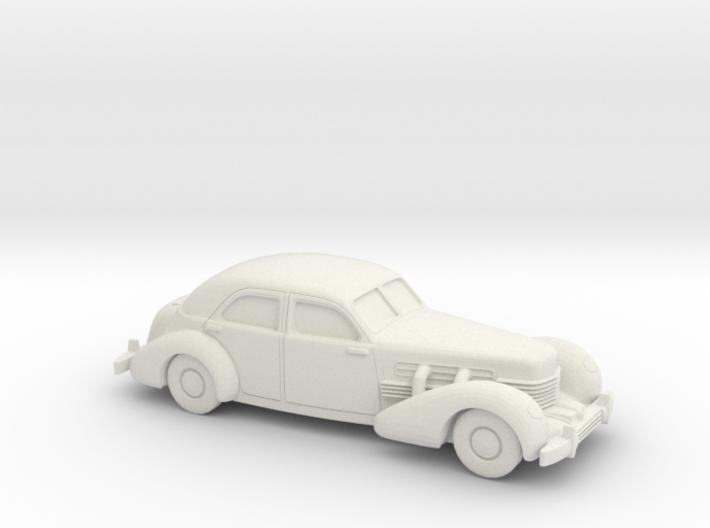 1/72 1935 Cord 812 Sedan 3d printed
