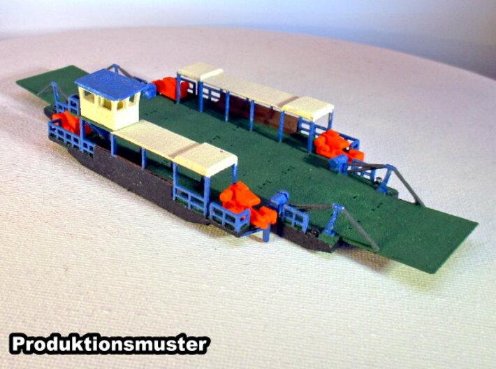 Ropax Fähre - 1:220 / 1:160 / 1:120 / 1:87 3d printed bemalt und zusammengebaut - painted and assembled
