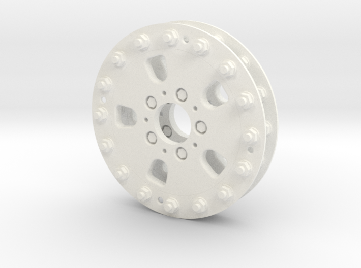 1/10 RC Car Wheel Hutchinson Caps 3d printed