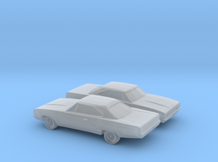 1/160 2X 1968-70 Plymouth Satellite GTX Coupe 3d printed