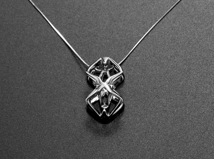 HEAD TO HEAD Perfect Union, Pendant 3d printed