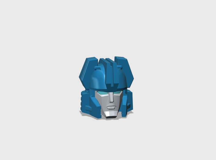 Action Junkie's Head Deluxe 3d printed
