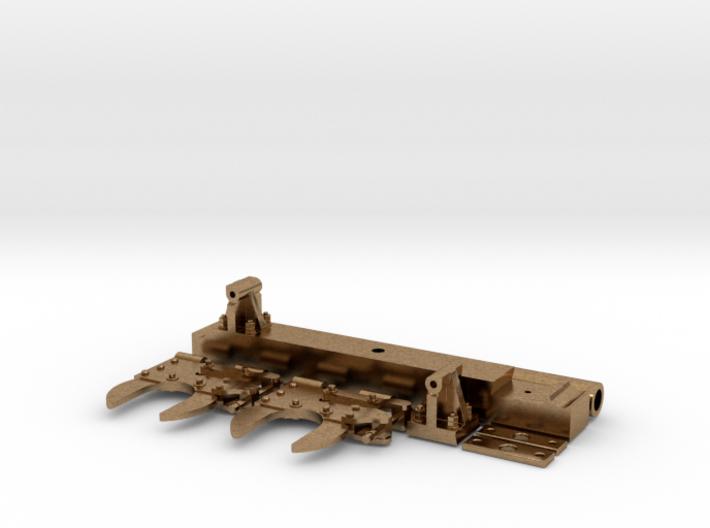 Rollbock Achstraeger Achszangen Achsabdeckungen Pu 3d printed