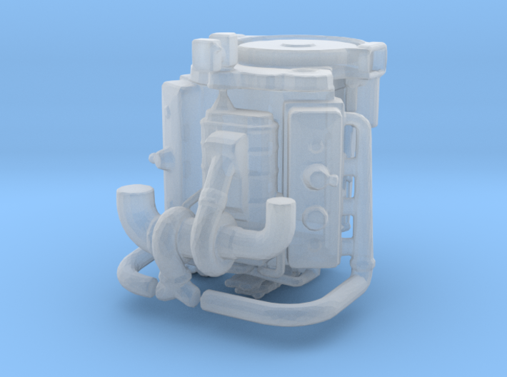 Detroit-Diesel 64th ? 3d printed