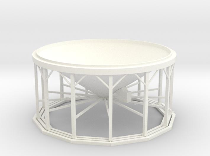 1/64 Hopper Bin 11Leg - With Aeration  3d printed