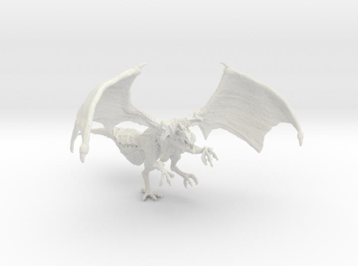 Hybrid Dragon 3d printed