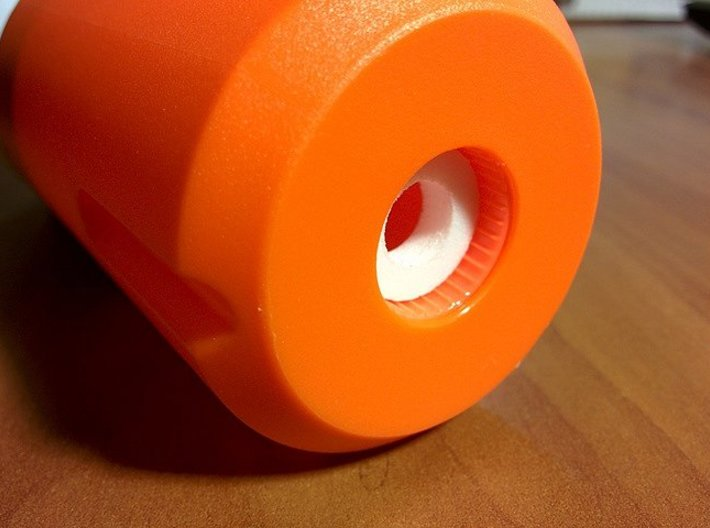 Nerf Muzzle to Airsoft Inner Barrel Stabilizer 3d printed