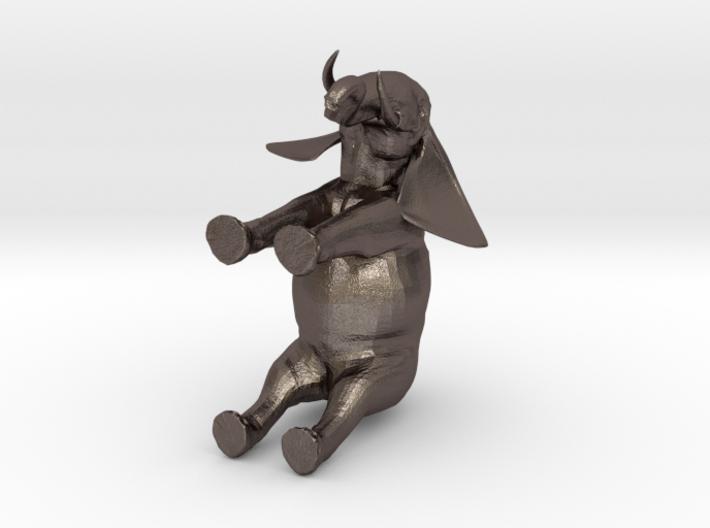 3D Africa Elephant 3d printed