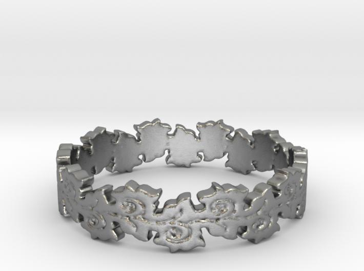 Nurture Ring (size 4-13) 3d printed
