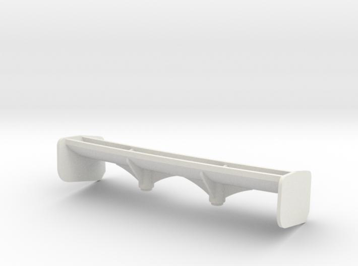 Aileron Mc Laren 12C moyen appui Aéro 3d printed