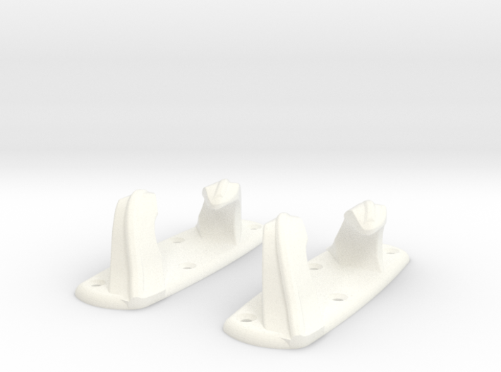1-10 Stern Chocks 3d printed