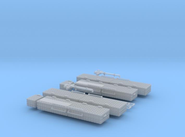 Dachteile RW3 DUS 2x 3d printed