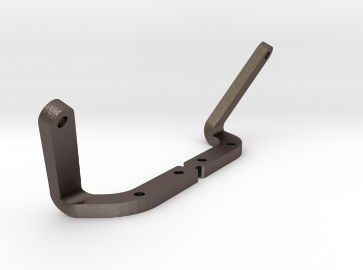 Tamiya Wild Willy M38 Windscreen Bracket 3d printed