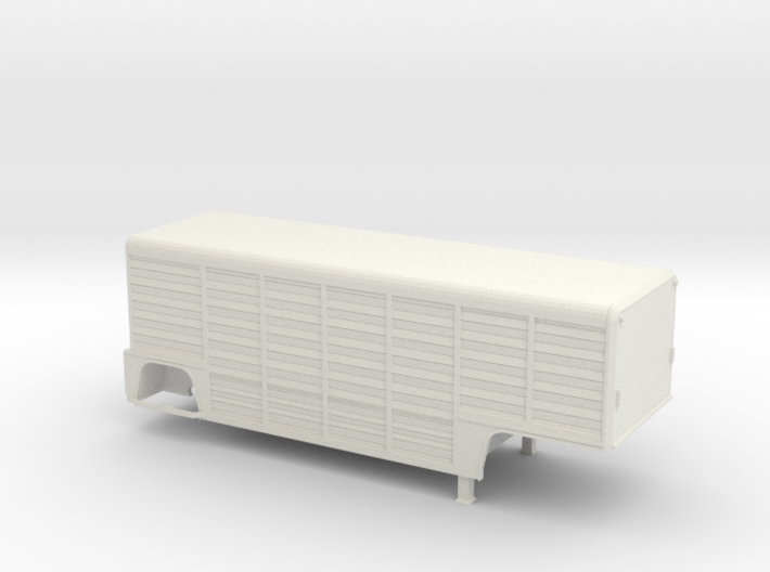 1/64-scale Mickey 26' 14-Bay Beverage Trailer 3d printed