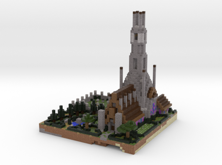 Church 3d printed