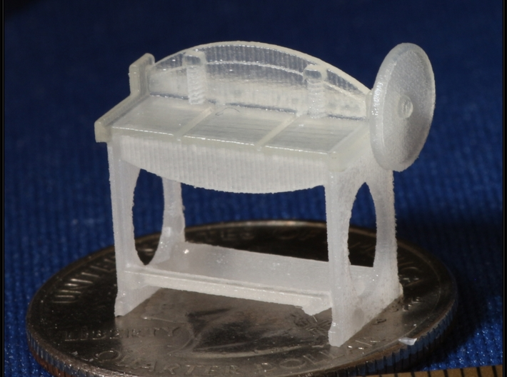 Small Machines for Metal Shop HO Scale 1/87 3d printed Metal Shear