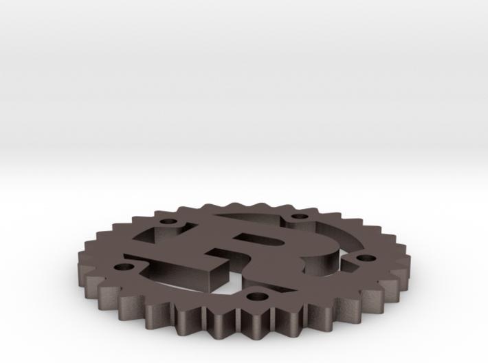 Rust Logo 3d printed