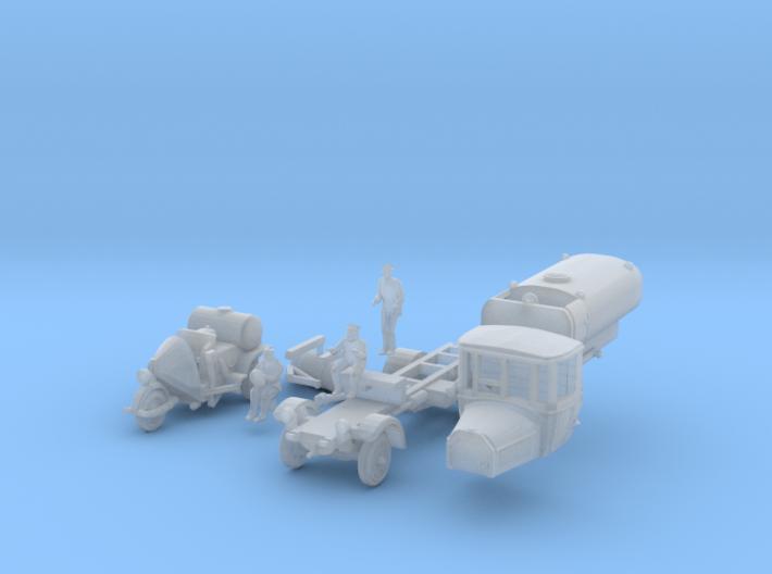 SET Straßenreinigung (N 1:160) 3d printed