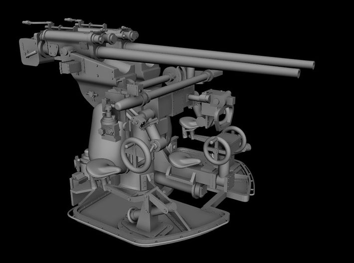 1/32 Germany 3.7cm/83 Twin Gun Mounting 3d printed