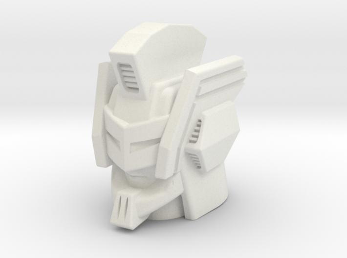 Nexus Prime head for CW Bruticus Small 3d printed