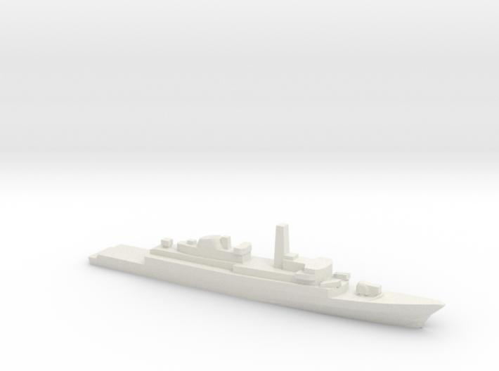 Type 21 frigate w/ Exocet AShM, 1/3000 3d printed