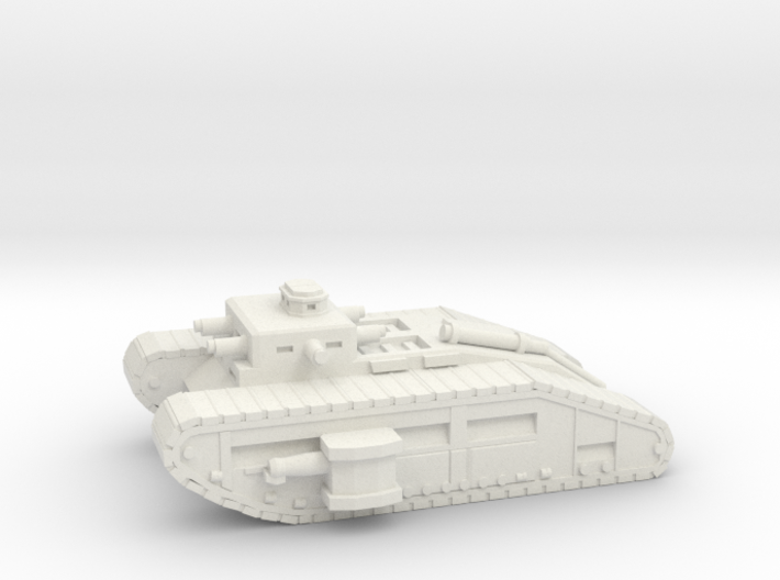 Infantry Flame Tank 3d printed