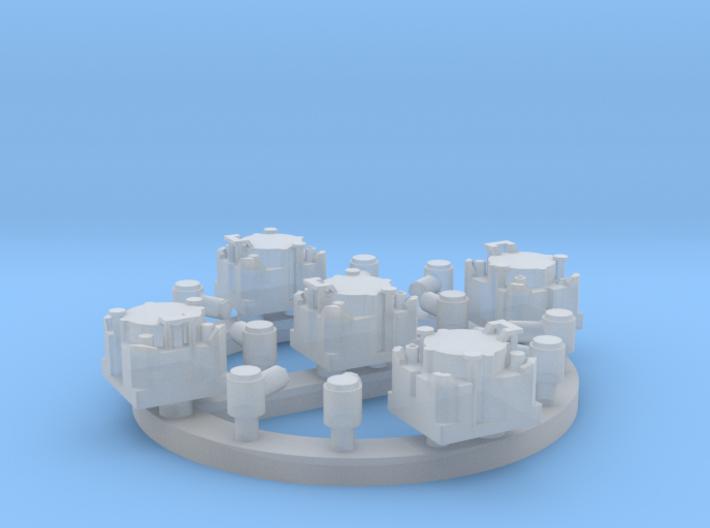 1/35 and 1/16 LS-671/VRC set of 5 MSP35-003a 3d printed