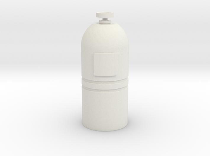 Printle Thing Gas-bottle 1/24 3d printed