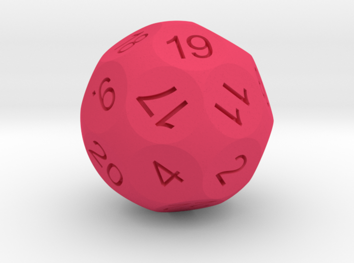 D24 Sphere Dice for Impact! Miniatures 3d printed