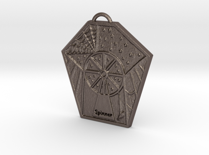 The Spinner's Wheel by ~M. 3d printed