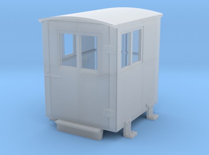 Southern Ry. Doghouse for Large Tenders - O scale 3d printed