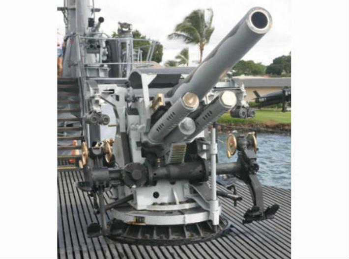 Best Cost 1/35 USN 5 Inch 25 GUN MOUNT MARK 40 3d printed