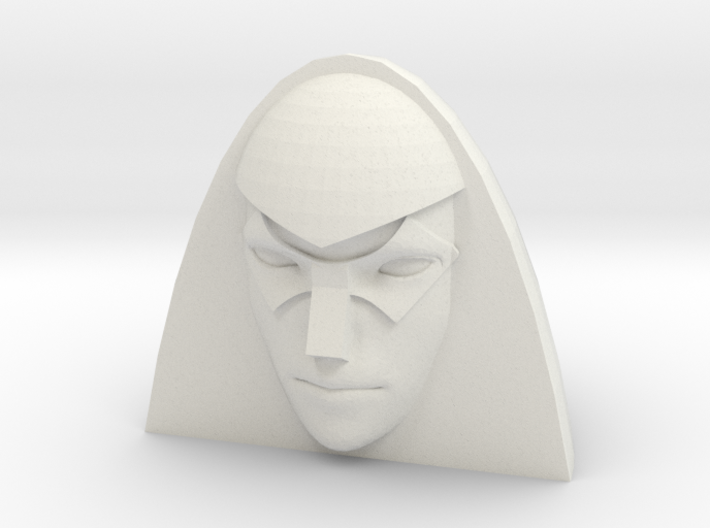Crasher head for CW Dragstrip 3d printed