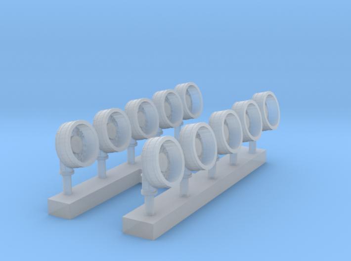 1:400 Scale OE-82 SATCOM Antenna 3d printed