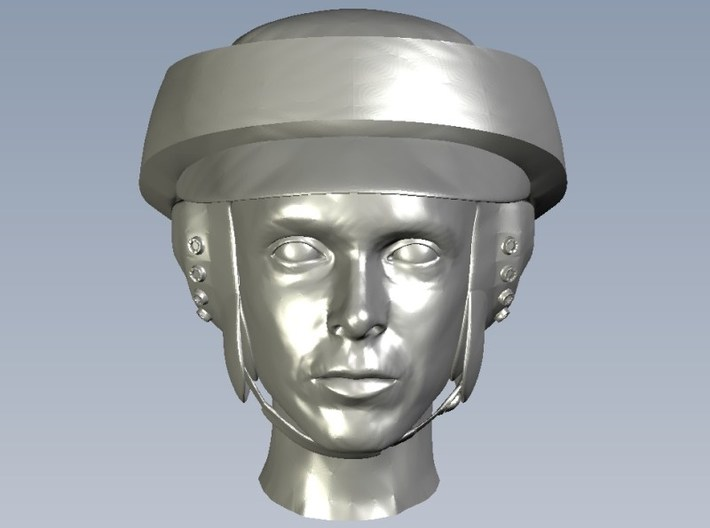 1/35 scale Star Wars rebel trooper heads x 10 3d printed