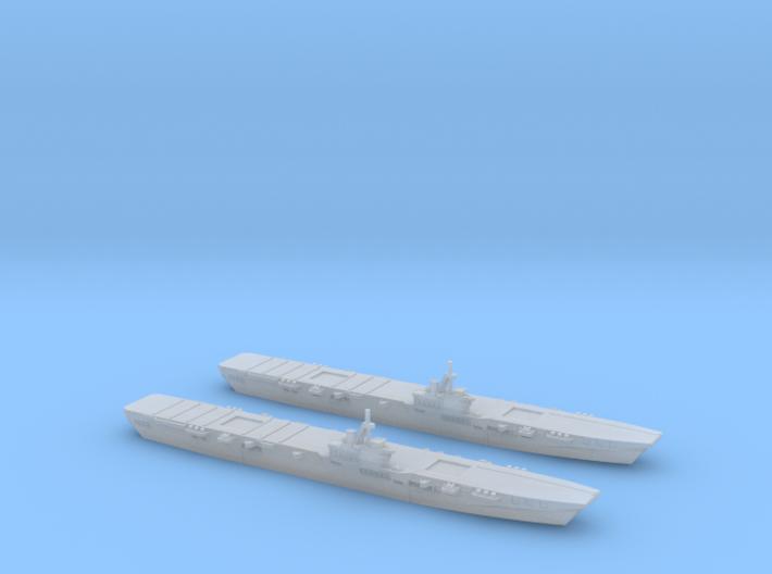 HMS Colossus 1/3000 x2 3d printed