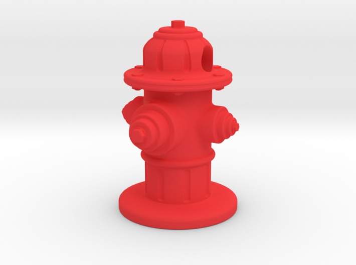 Fire Hydrant 3d printed