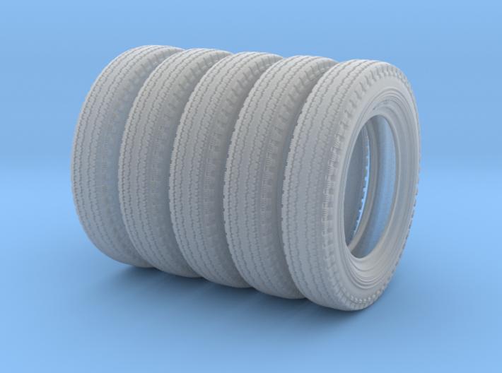 1/18 6.00 X 16 Dunlop Fort Tire SET2 3d printed