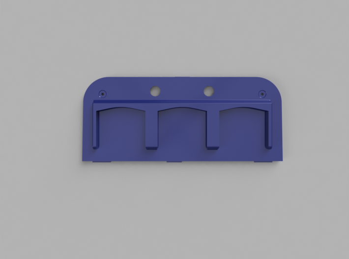 2DS Catridge Back 3d printed Top View