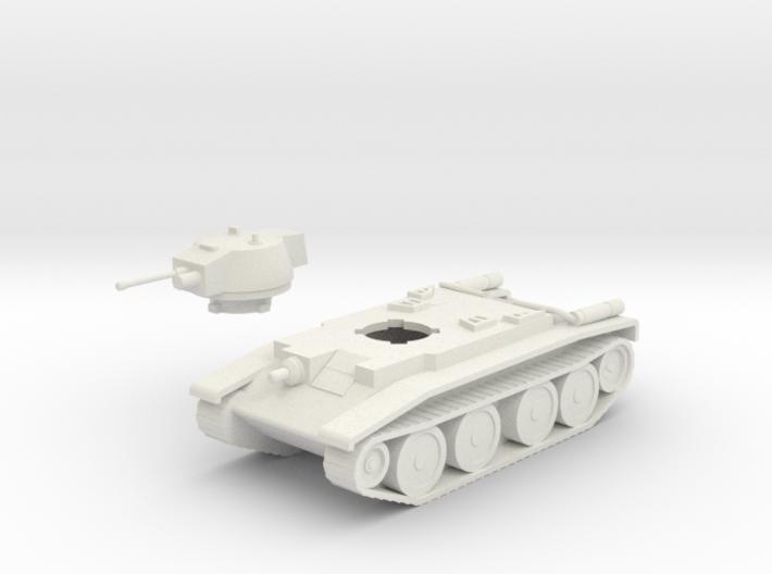 Polish 14TP Tank 3d printed