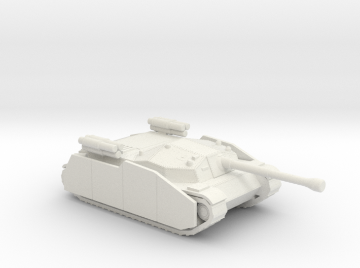 Zrinyi I with side armor and rockets Hungarian 3d printed