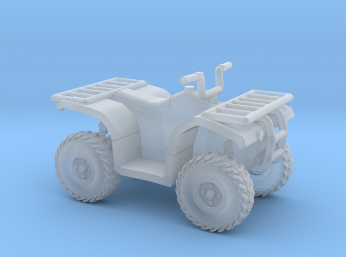1:72 Scale Quad ATV 3d printed