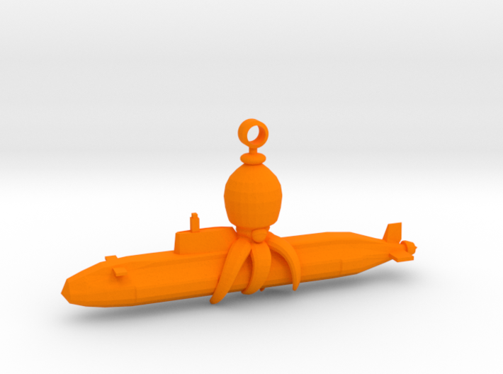 Octocopter: Super Sub Squid Escape 3d printed