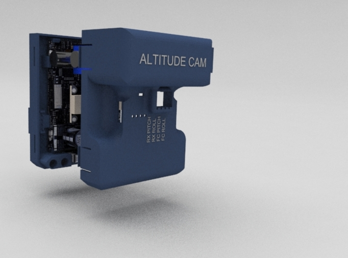 Alexmos Highpower 3-Axis Brushless Gimbal Controll 3d printed