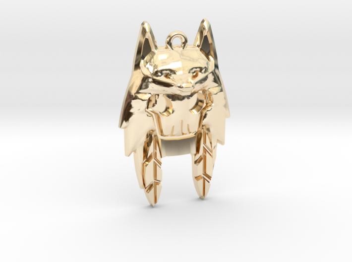 Wolf Hoodie 3d printed