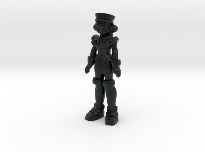 T-Ai, at attention (RiD2000) 35mm Mini 3d printed