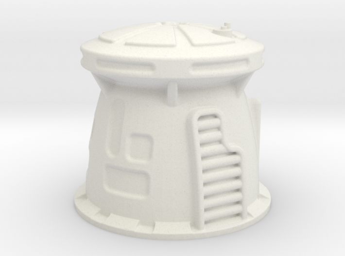 6mm Scale Sci-Fi WatchTower 3d printed